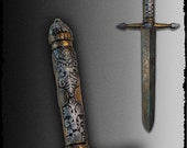 High quality STYLETOT dagger for live action role playing(LARP).