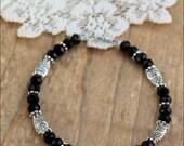 Owl Bracelet, Crystal Bracelet, Owl Jewelry