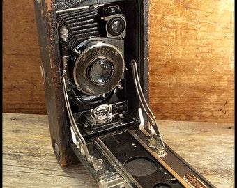 Antique Kodak Camera No 3A Autographic Folder from early 1900s
