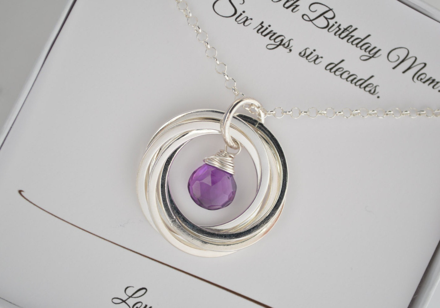 60th Birthday Gift For Wife 60th Birthday Gift For Women 6th