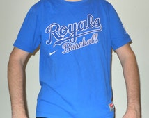 Kansas City Royals Baseball MLB Genuine Merchandise Nike T-Shirt XL