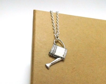 Watering Can Necklace, Gardeners Necklace, Gift for Gardener, Garden Jewellery, Gardeners Jewelry