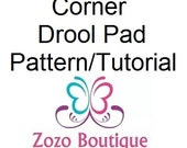 Drool Pad Pattern and Tutorial for Kinderpack, Tula or other Carriers