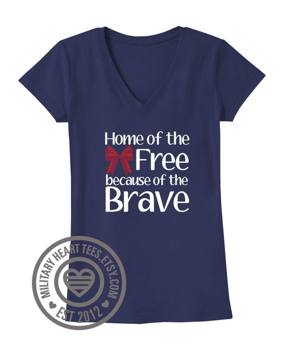 Home of the free shirt red friday shirt support our troops for Red support our troops shirts
