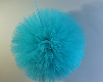 18 Inch Party Pom Pom, Handsewn and Woven Pom,  Wedding Decor, Reception Decor, Birthday Decor, Shower Decor, Nursery Decor,
