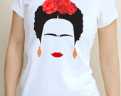 Frida Inspired Women's T Shirt All Sizes Available