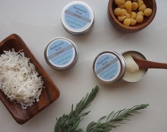 Lavender - Natural Deodorant Balm - 30gm Travel size - Aluminium free