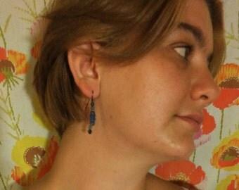 Summery, Blue, Mediterranean, Handmade Dangle Earrings