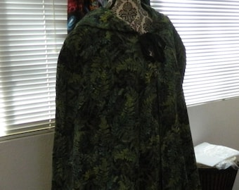 Custom Handmade Hooded Cloak with cotton lining ~ Ritual Wear Witchcraft Wiccan Attire, LARP, Costume, COSPLAY