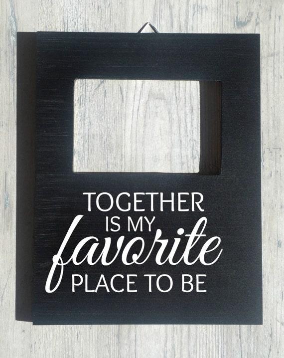Custom Quote Picture Frame Boyfriend Girlfriend Photo