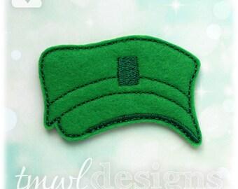 Military Patrol Cap OS Feltie Digital Design File
