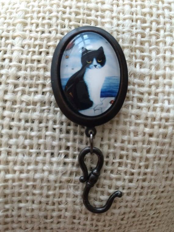 Knitting Pin - Magnetic Knitting Pin Cat 2