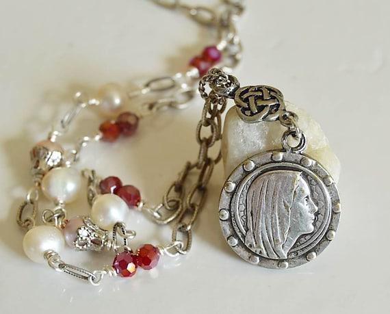 religious jewelry catholic necklace religious catholic