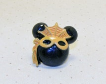 Halloween Masked Mickey Mouse Rings, Spider Web Masked Ring, Mickey Mouse Ring, Halloween Ring, Halloween Jewerly, Holiday Ring/Jewelry