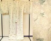 Gold maple leaves kimono,...