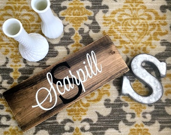 Custom Family Sign, Family Sign, Wooden Family Sign, Wooden Name Sign, Rustic Family Sign, Custom Wooden Sign, Custom Wedding Gift