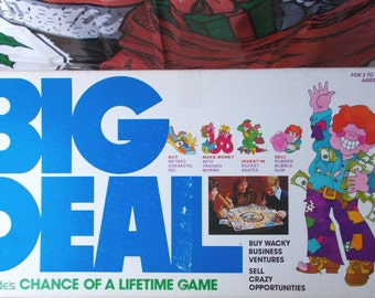 Vintage Big Deal Lakeside Chance of a Lifetime Board Game 1977