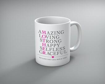 Personalized Mother's Day Coffee Mug | Mother's Day Gift | Custom Mug | Gift for Mom | Mugs for mom | Custom Mom Coffee Mug