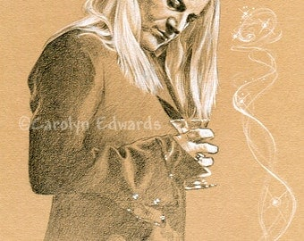 HARRY POTTER - Lucius Malfoy A4 Art Print (29.7 x 42cm)