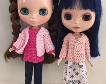 Cardigan Blythe crochet pattern PDF