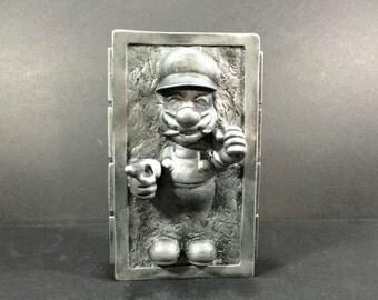 Custom Mario In Carbonite