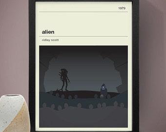 Alien Movie Poster - Movie Poster, Movie Print, Film Poster, Film Print