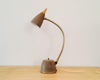Industrial Eagle Hi-Lite Gooseneck Desk Lamp