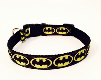 Batman Dog Collar
