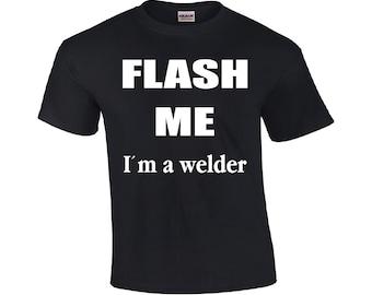 Welder t shirt | Etsy