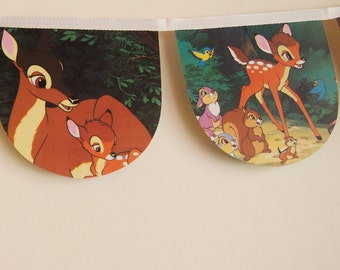 Bambi- Disney Book Bunting.