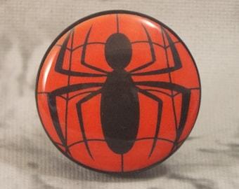 """1-1/2"""" Spiderman Dresser Knobs - Spider-man - Super Hero Knobs"""