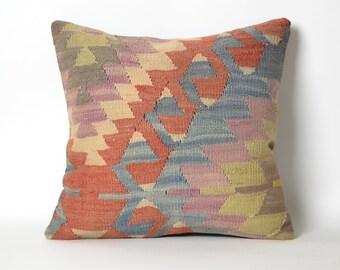 bohemian pillow, ethnic pillow, pillows, rug pillow, tribal pillow, kilim pillow cover, throw pillow, boho pillow, home living, kelim pillow