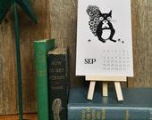 2016 Desk Calendar // 4x6 with easel