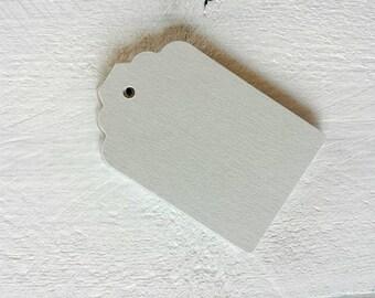 Grey Gift Tags-Light Grey, Dark Grey-25, 50 or 100-Hang Tags-Price Tags-Blank