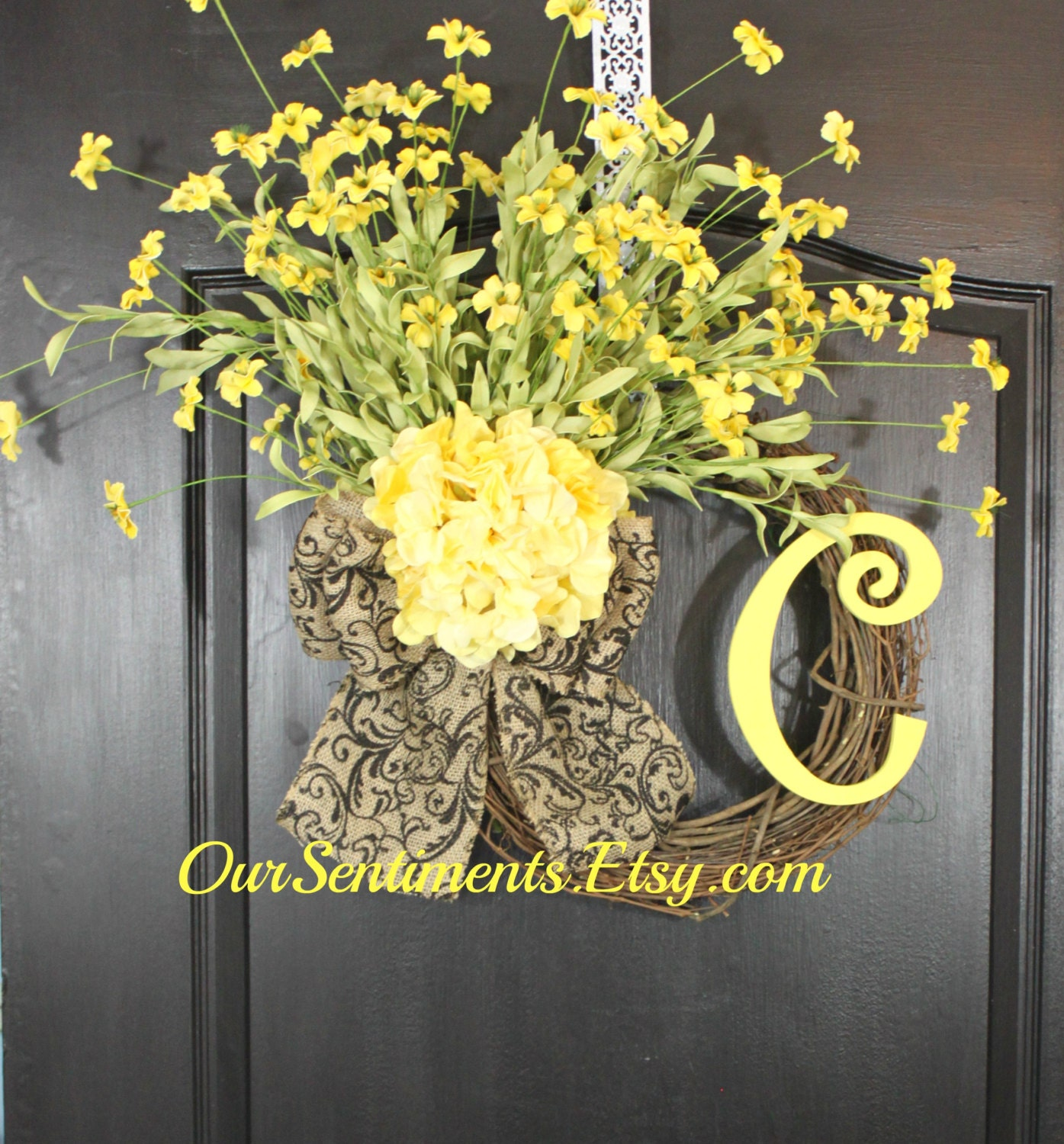 Burlap wreath wreath for door summer wreath by oursentiments - Burlap Wreath Spring Wreath Mothers Day Gift By Oursentiments