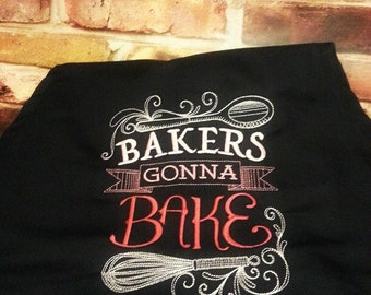 Cute Apron - Baking apron - Cute apron -Kitchen - Baking - Novelty Kitchen Gift - Housewarming Gift - Shower Gift