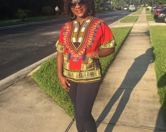 African Clothing, African Shirt