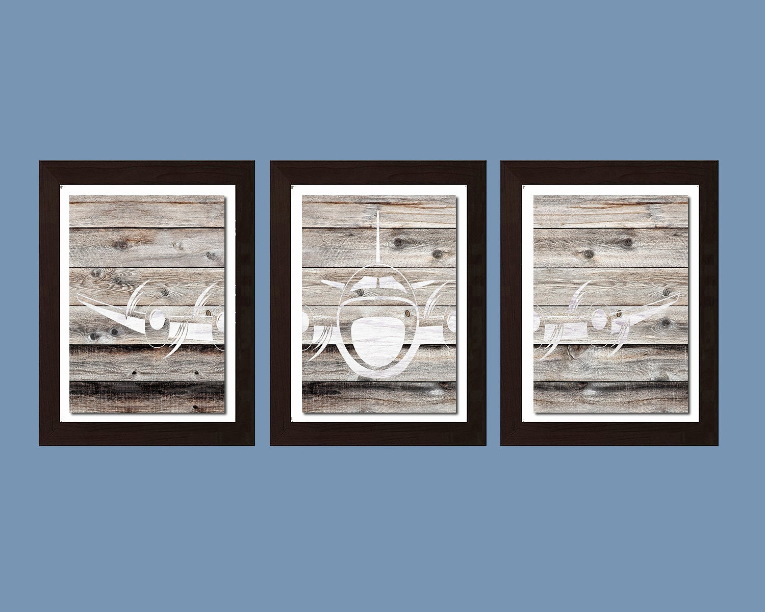 shabby chic decor shabby chick wall art airplane by fmdesignstudio. Black Bedroom Furniture Sets. Home Design Ideas
