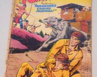 Vintage Tomahawk Comic Book No. 50 Aug. 1957 Featuring Tomahawk's Canine Partner, DC Comics