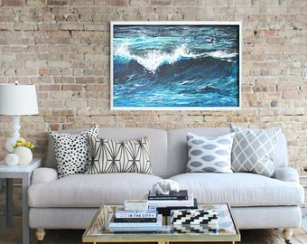 Ocean Art Painting Fine Art Print