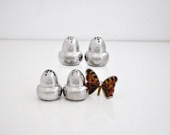 Vintage Hanle Debler Pewter Salt & Pepper Shakers