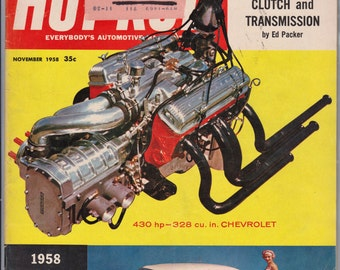November 1958 Hot Rod Magazine