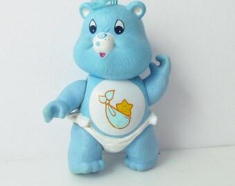 Baby Tugs Care Bears Mini Poseable Figure 1980s Baby Care Bears