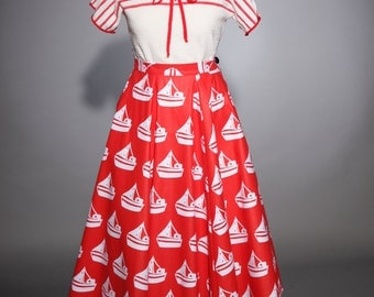 50's a-line style skirt