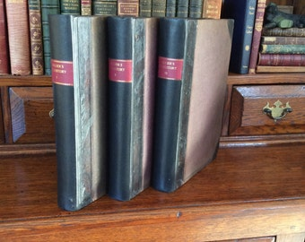 HISTORY Of The UNITED STATES - 3 vols 1874