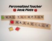 Sale, Teacher Name Plate, Teacher Appreciation Present,  Teacher Gift, Custom Teacher Gift, School, Club, Elementary School, Preschool, Grad