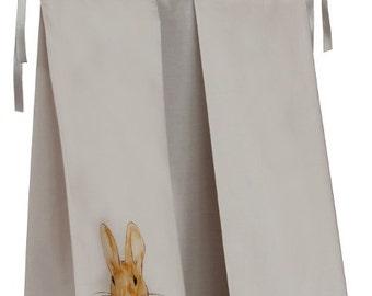 Peter Rabbit Fabric Diaper Stacker - Beatrix Potter Diaper Caddy