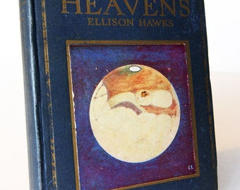 The Starry Heavens Vintage Astronomy 1930s Rares Astronomical textbook rare old book Science