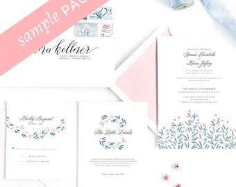 Josephine Collection - Wedding Invitation (Sample Kit)