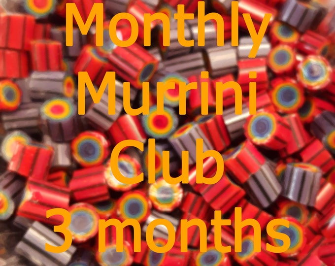 Featured listing image: 3 Months of Murrini - Subscription to the Monthly Murrini Club, 104 COE